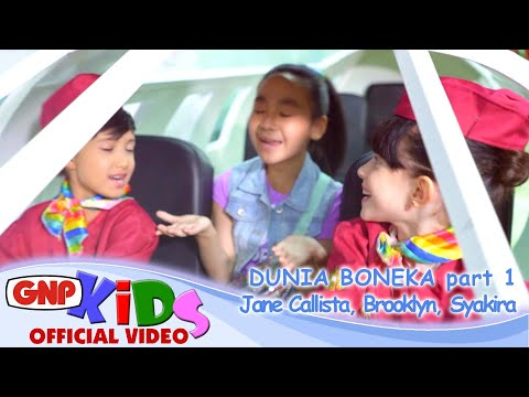 Dunia Boneka part 1 bersama Jane Callista-Brooklyn-Syakira