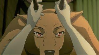 小白兔和雄鹿的秘密戀情,被大灰狼意外撞破,之後三人的處境太尷尬《BEASTARS》