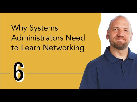 Why Systems Administrators Need to Learn Networking - YouTube