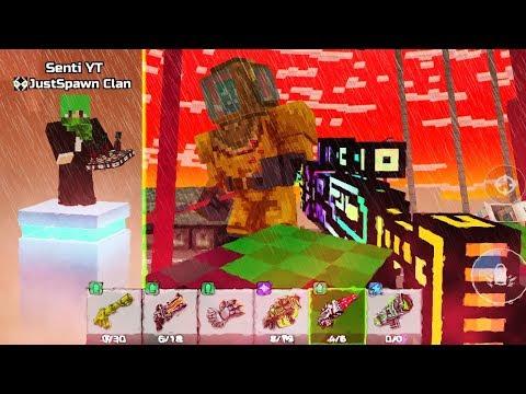 2 Hard Raid - Senti & JustSpawn (Pixel Gun 3D)