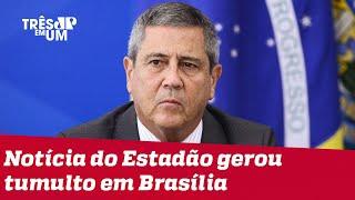 General Braga Netto nega ter ameaçado eleições de 2022