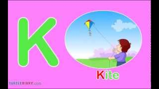 Toddler Words | Words Starting With K