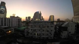 2014-12-31 View from the balcony, Bangkok