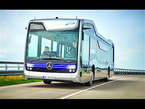 Mercedes Self Driving Bus Official Commercial Mercedes Future Bus 2016 Autonomous Bus CARJAM TV