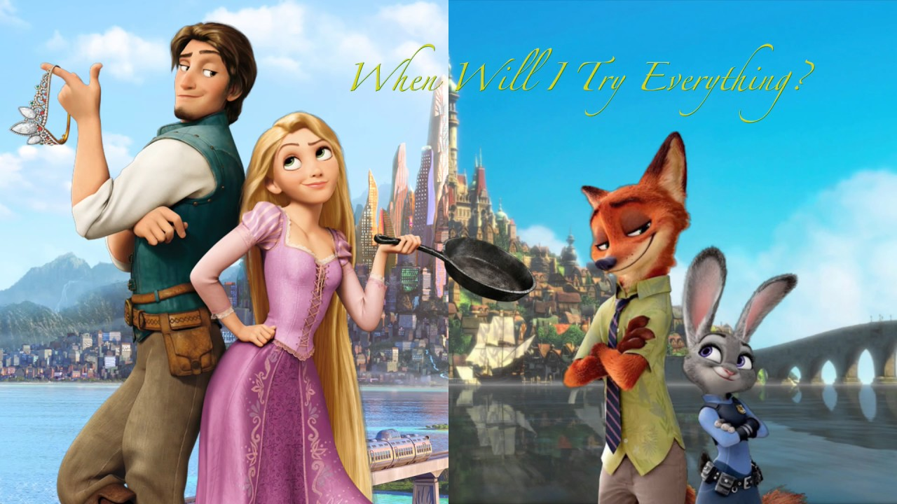 "Tangled meets Zootopia in ""When Will I Try Everything?"""