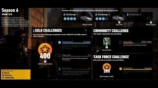 Solo Challenge 2 Season 6 Week 3 - Ghost Recon Wildlands