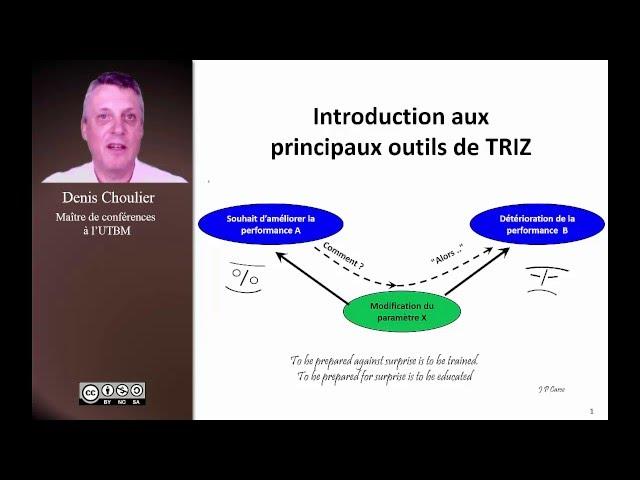 TRIZ : résolution créative de problèmes