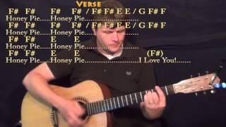 Wild Honey Pie (Beatles) Strum Guitar Cover Lesson with Chords/Lyrics