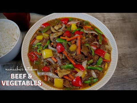 BEEF and VEGETABLES SAUCE – Nanaaba's Kitchen – How to make the tastiest sauce without tomatoes