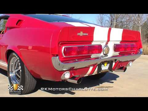 1967 Ford Shelby Mustang GT350 Video