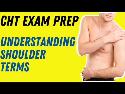 CHT Exam Prep Understanding The Shoulder Terms And Testing ...