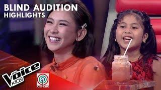 Yshara, pinili na mapasama sa Team Sarah | The Voice Kids Philippines 2019