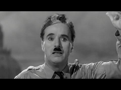 Речь Чарли Чаплина в фильме 'Великий диктатор' - 1940 г