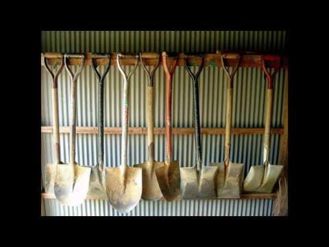 Ideas de diseño de almacenamiento de herramientas de jardín