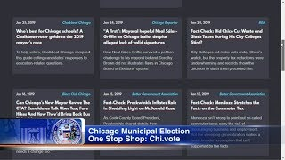 Chi.vote website helps Chicago voters ahead of mayoral election