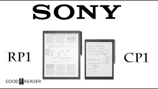 Sony Digital Paper DPT-CP1 Vs Sony DPT-RP1