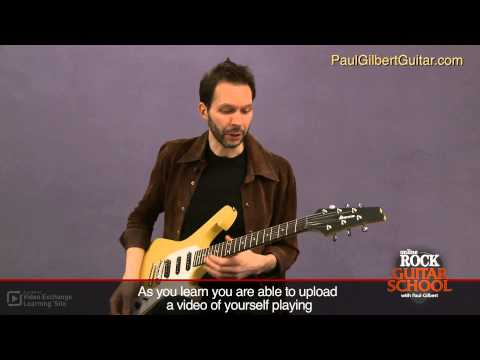 Rock Guitar with Paul Gilbert: Phrasing