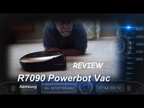 My Review of the Samsung PowerBot r7090 Vacuum