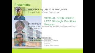 CaGBC – LEED Strategic Practices (LSP) Program – Virtual Open House Webinar and Q&A