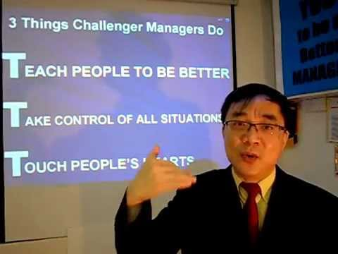 The Manager as Challenger