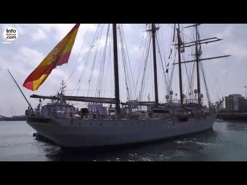 El buque Juan Sebastián de Elcano ya está en casa tras completar su 11ª vuelta al mundo