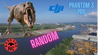 RANDOM OFF THE CUFF FLIGHT WITH THE DJI PHANTOM 3 DRONE / QUADCOPTER