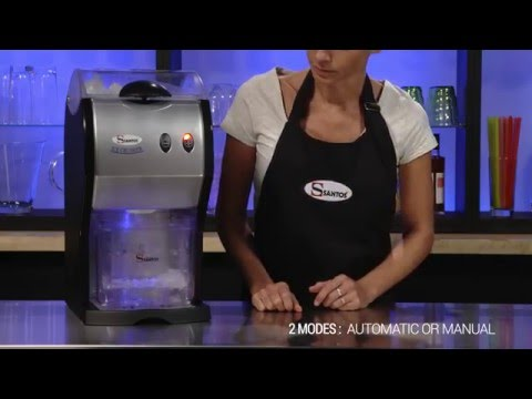 Santos Ice Crusher Introduction Video