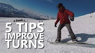 #14 Snowboard begginer – Tips to improve snowboard turns