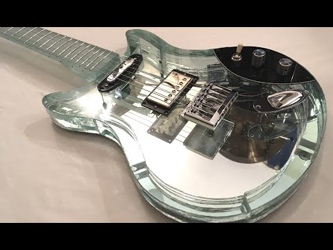 How to Make an Electric Guitar with Glass
