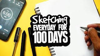 '6 MINUTE' SKETCH CHALLENGE (for 100 Days)