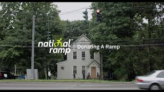 National Ramp Donates A Ramp