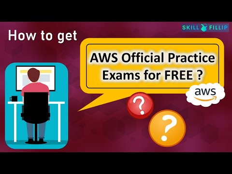 How to get Official AWS Practice Exams for Free? | Free AWS ...