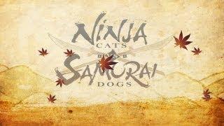 Ninja Cats vs Samurai Dogs video