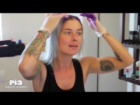 Um das Haar vom Vorfall aufzusparen