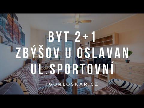 Video z << Prodej bytu 2+1, 64 m2, Zbýšov >>