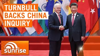 Coronavirus: Malcolm Turnbull supports China inquiry into COVID-19 origin | 7NEWS