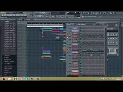 Avicii Wake Me Up - Dj Frost remake tutorial