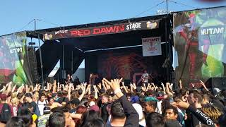 Chelsea Grin - My Damnation - Live @ Vans Warped Tour in Pomona, California 6/21/18