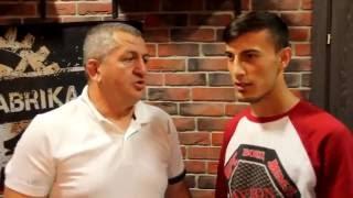 Team DAVRON - Таджикские бойцы в Санкт-Петербурге