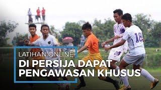 Persija Jakarta EPA Lakukan Latihan Secara Online dengan Seluruh Pemain