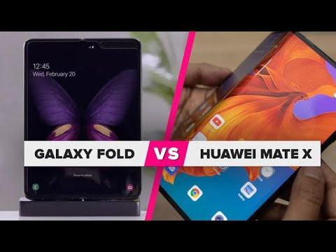 7be99fd85e1 Huawei Mate X vs. Galaxy Fold: ¿Cuál es mejor?