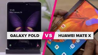Huawei Mate X vs. Galaxy Fold: ¿Cuál es mejor?