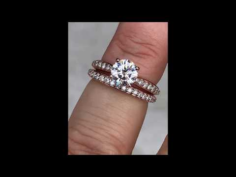 "wed609c-F1 w/ ""Surprise Diamond"" prongs"