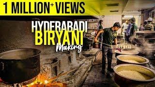 Hyderabadi Mutton Biryani Preparation Step by Step Process | Muslim Mutton Biryani | Grill9 | HYD