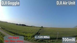 Testing the new DJI FPV digital video system - Part 4 - Distance Test 2 km