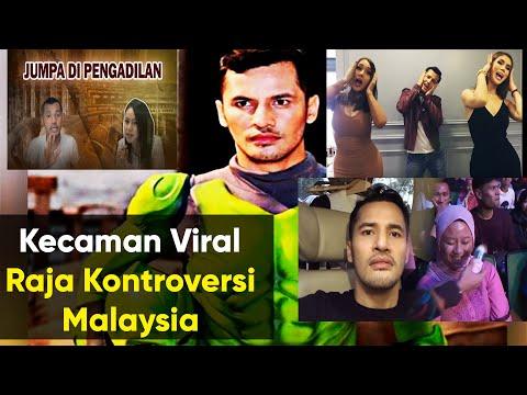 10 Video Kecaman Raja Kontroversi Malaysia Dato' Sri Aliff Syukri.