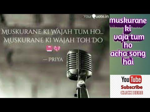 muskurane ki wajah tum ho song sung by Harshad