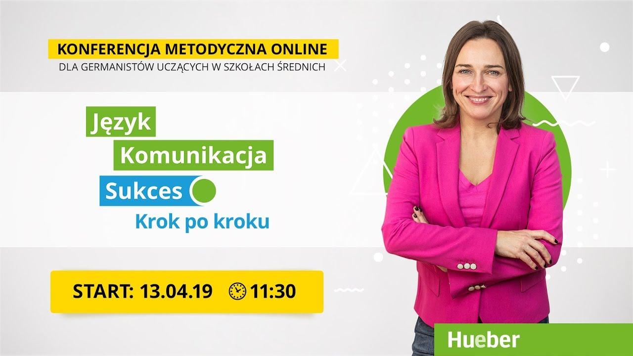Bezpłatna e-konferencja - 13.04.2019
