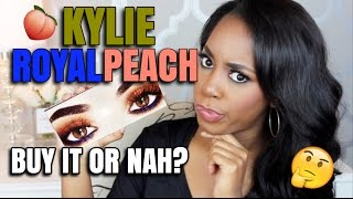 NEW KYLIE ROYAL PEACH PALETTE  BUY IT OR NAH  2 OPEN INTERNATIONAL GIVEAWAYS  Andrea Renee