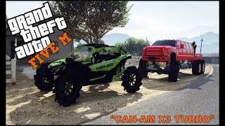 GTA 5 ROLEPLAY - NEW CAN-AM X3 TURBO TAKES ON THE SWAMP  - EP. 304 - CIV